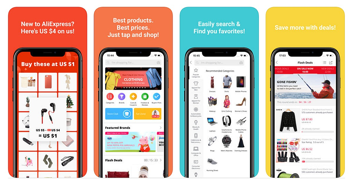 Download Aliexpress for iPhone