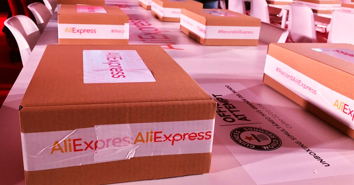 AliExpress Aims For Guinness Record with largest unboxing registered