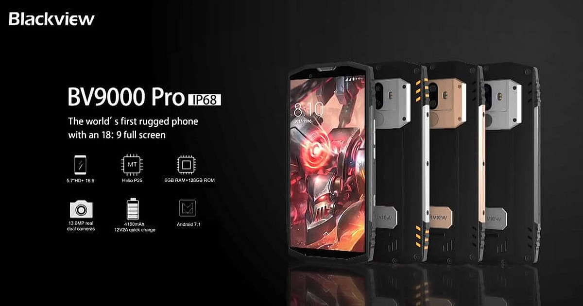 Happy 8th Anniversary AliExpress with Blackview BV9000 Pro